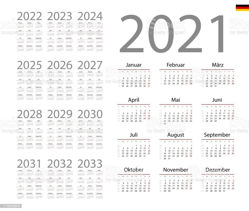 Germany Calendar 2021