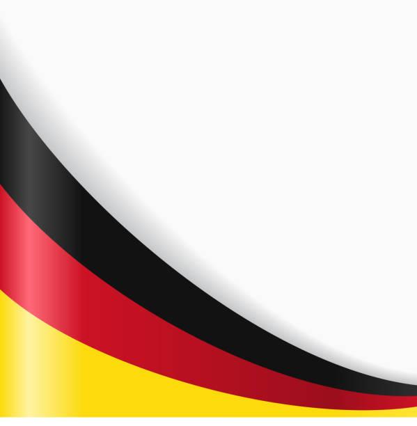 Fond de drapeau allemand. illustration vectorielle. - Illustration vectorielle