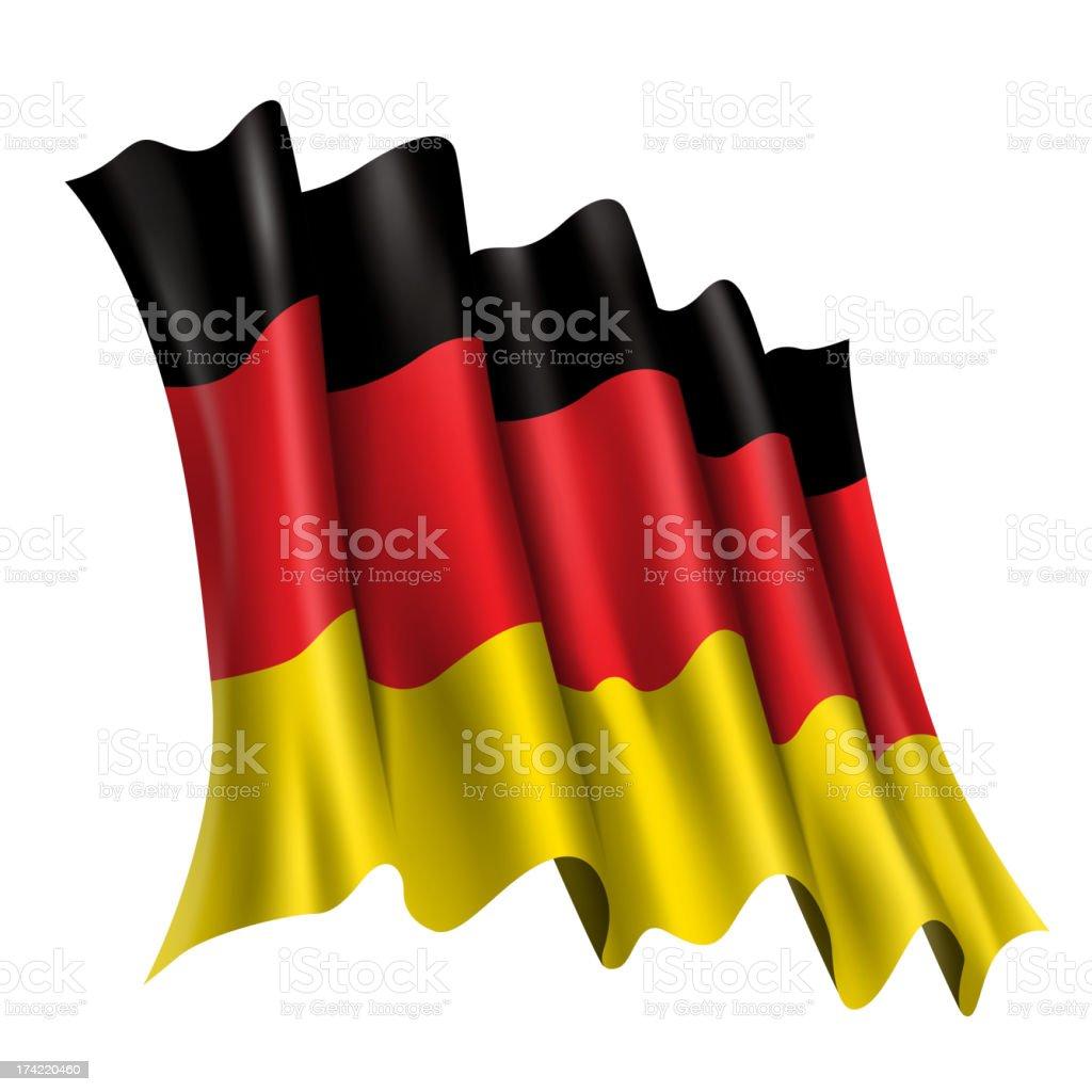 GERMANY, German Flag royalty-free stock vector art