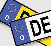 German Licence Plates