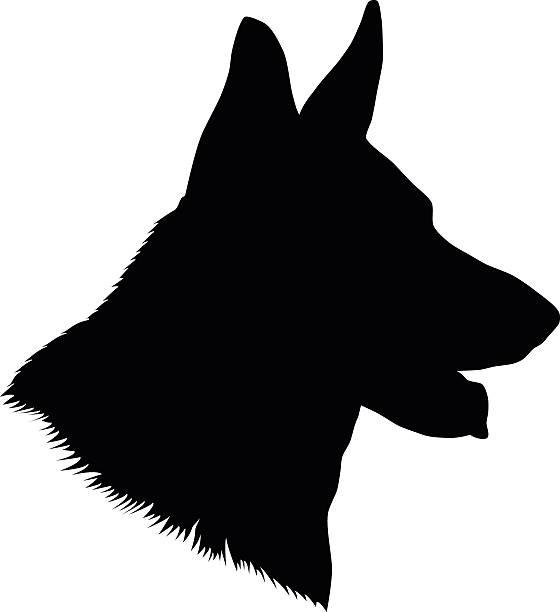 royalty free german shepherd dog clip art vector images