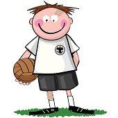 german soccer boy