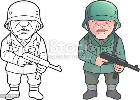 istock German soldier 652688814