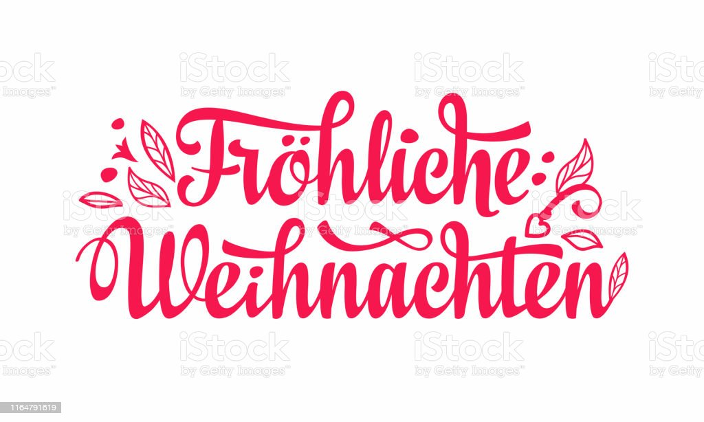 german text frohe weihnachtenchristmas typography happy. Black Bedroom Furniture Sets. Home Design Ideas