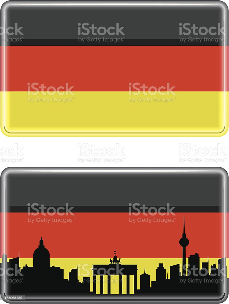 German Tile royalty-free stock vector art