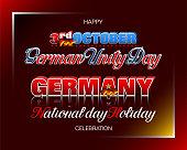 German Unity Day, Third of October, celebration