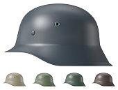 German ww2 military helmet