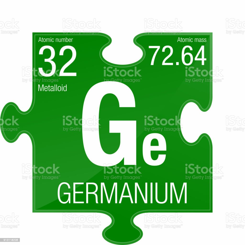 Germanium Symbol Element Number 32 Of The Periodic Table Of The