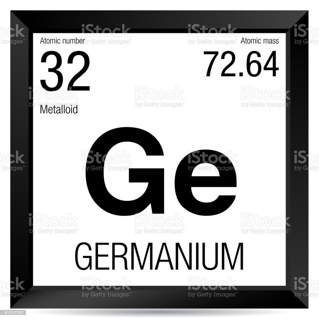 Germanium symbol element number 32 of the periodic table of the germanium symbol element number 32 of the periodic table of the elements chemistry royalty urtaz Choice Image
