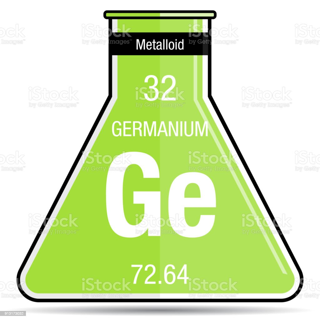 Germanium symbol on chemical flask element number 32 of the periodic germanium symbol on chemical flask element number 32 of the periodic table of the elements urtaz Gallery