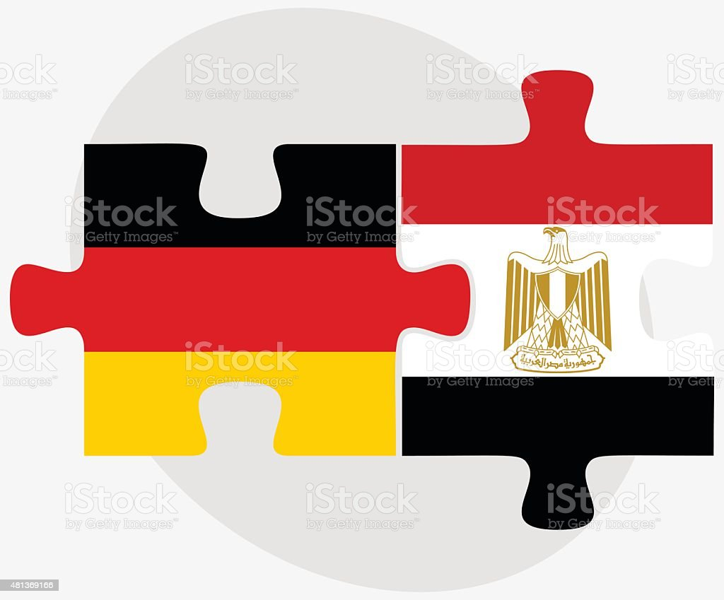Germany And Egypt Flags Stock Vector Art 481369166 Istock
