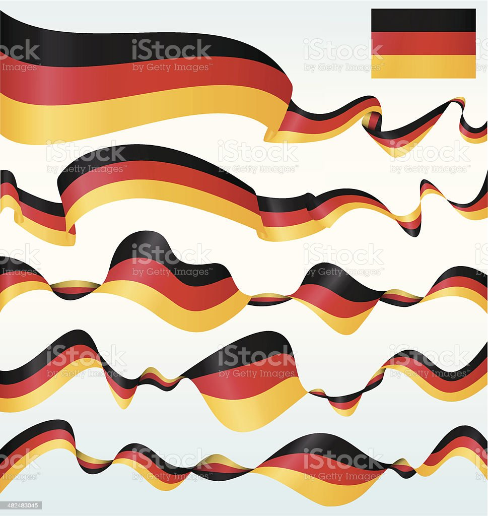 Germany banners vector art illustration