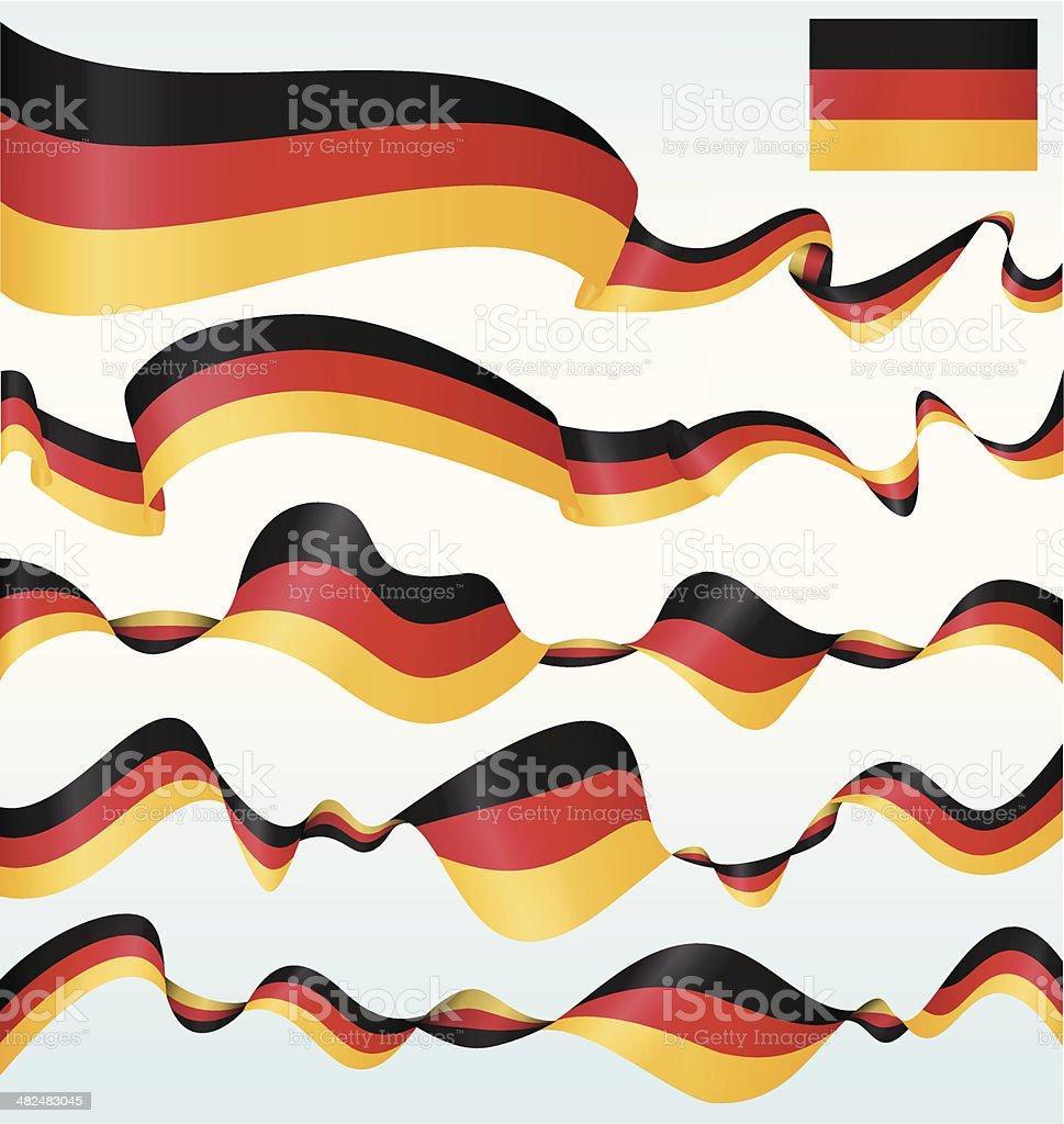 Alemania, banners - ilustración de arte vectorial
