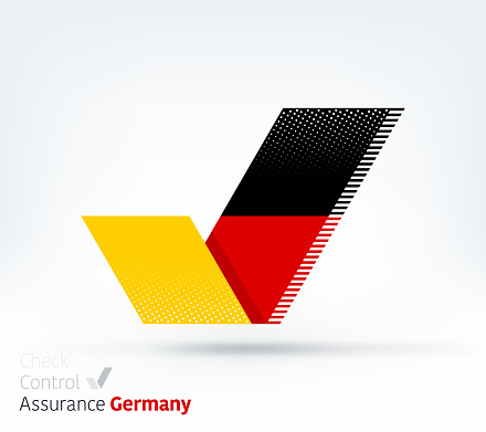 Germany Flag for Controlling & Ensuring