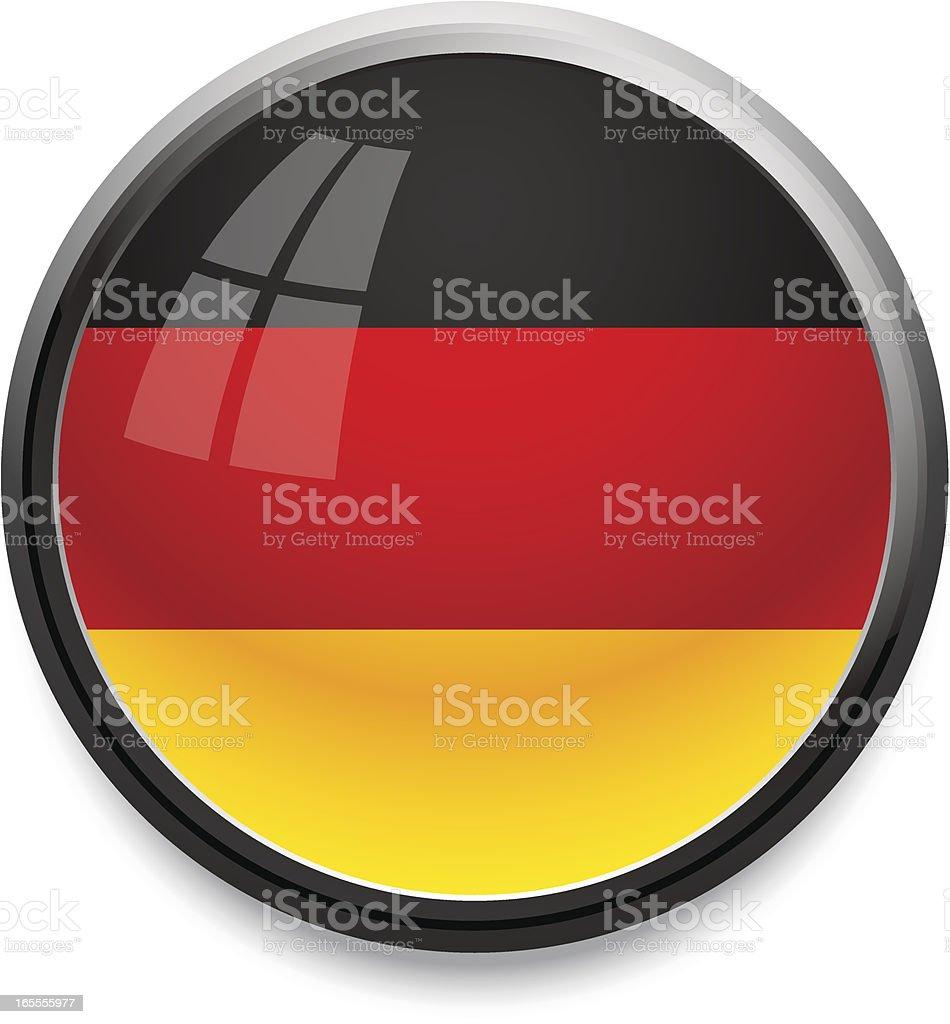 Germany - flag icon royalty-free stock vector art