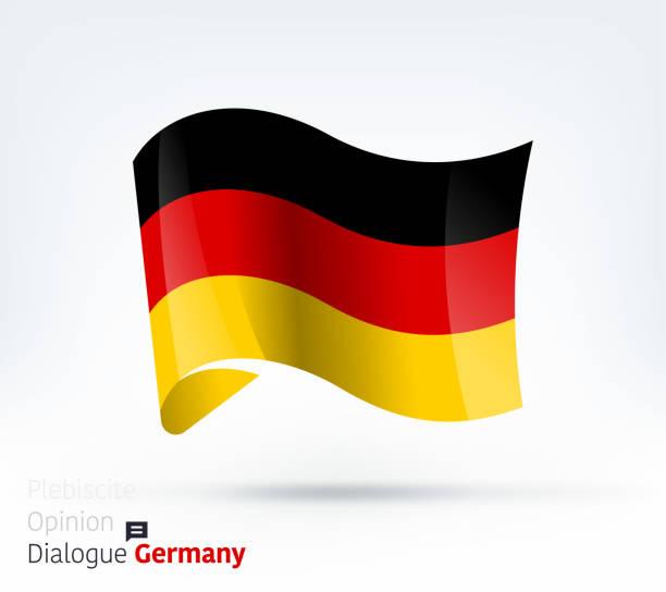 deutschland fliegt internationalen dialog und konfliktmanagement - kanzlerin stock-grafiken, -clipart, -cartoons und -symbole