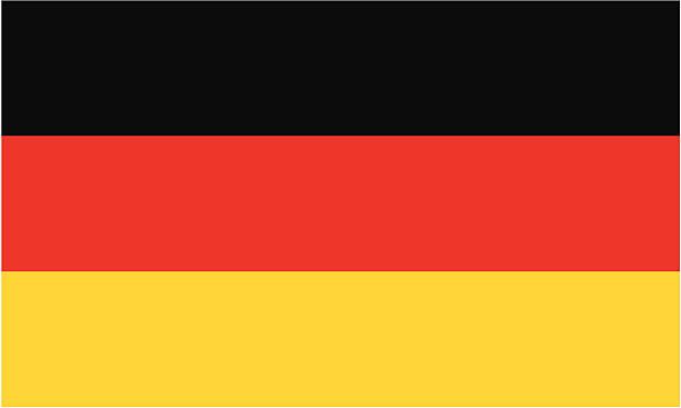 flaga niemiec - niemcy stock illustrations