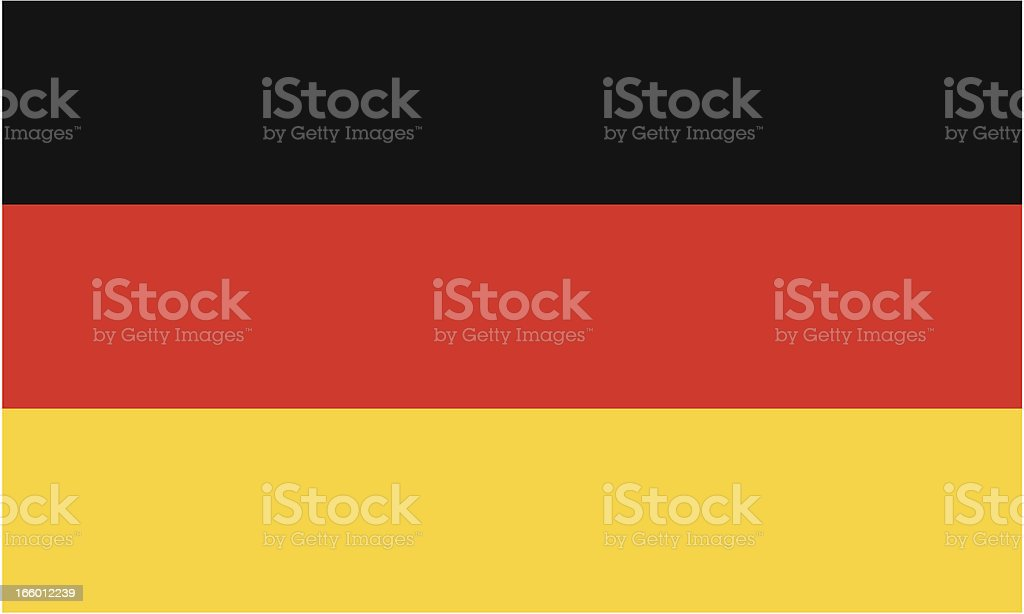 germany flag vector art illustration