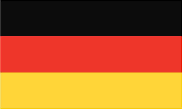 germany flag EPS and JPEG germany stock illustrations