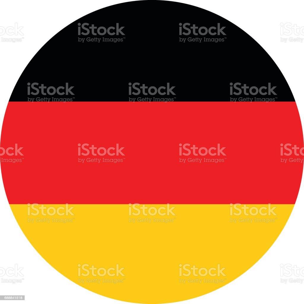 Bandera Alemania - ilustración de arte vectorial