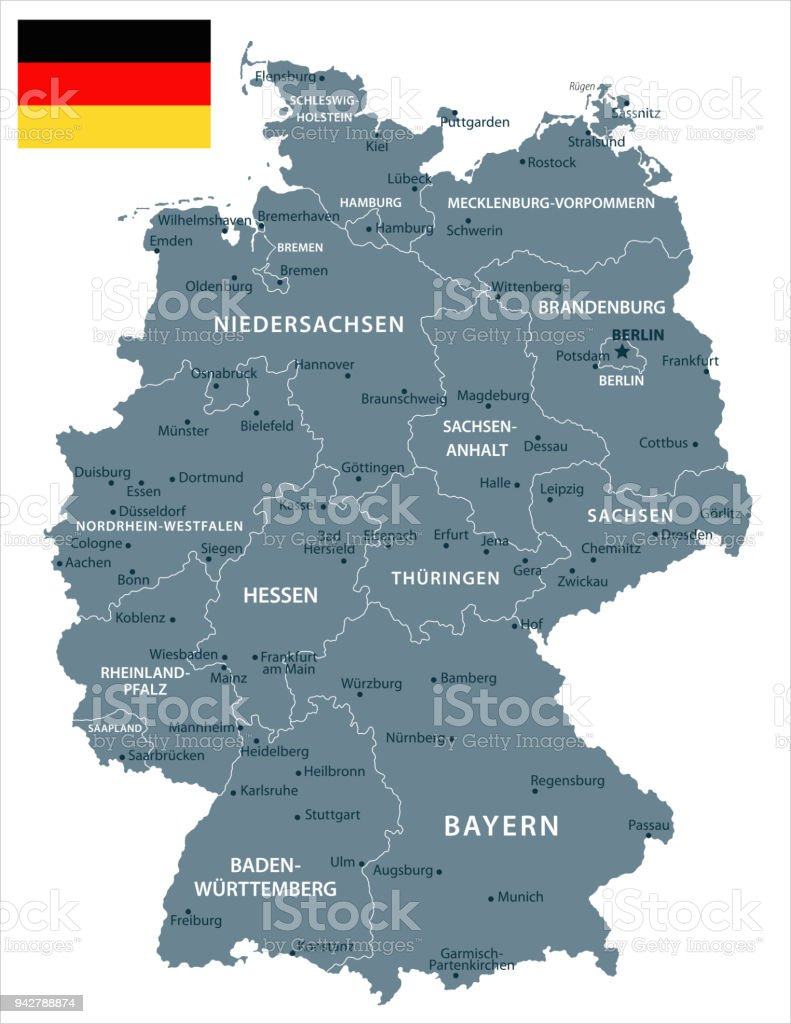 30 Germany Grayscale Isolated 10 Stock Vector Art More Images of