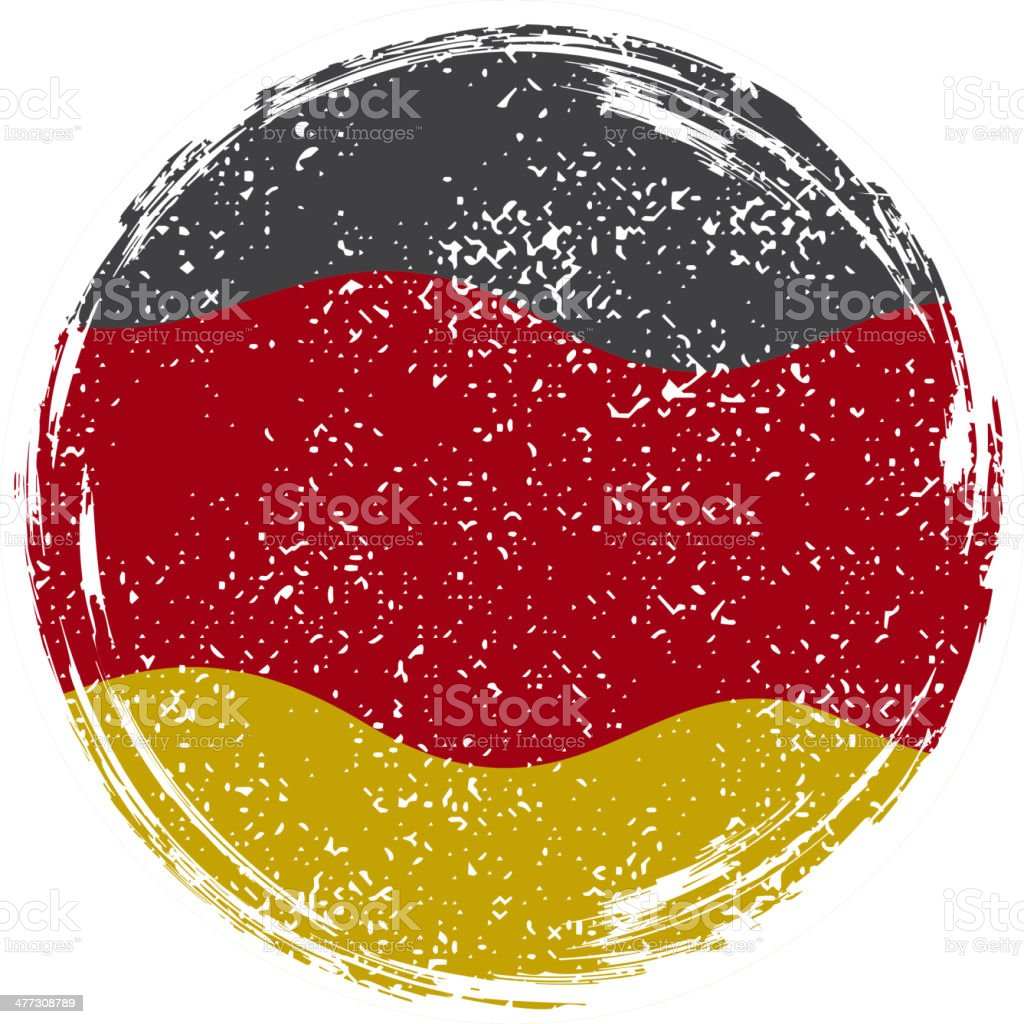 Germany grunge flag royalty-free stock vector art
