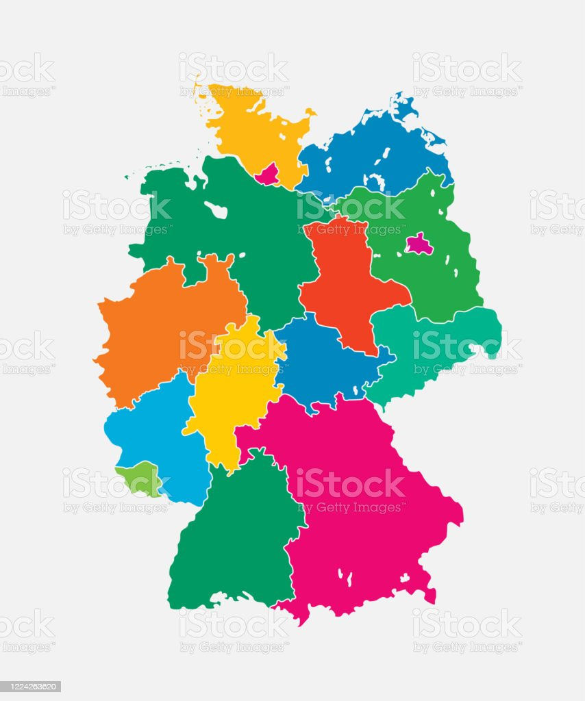 Picture of: Germany Map Europe Country Map Vector Template Stock Illustration Download Image Now Istock