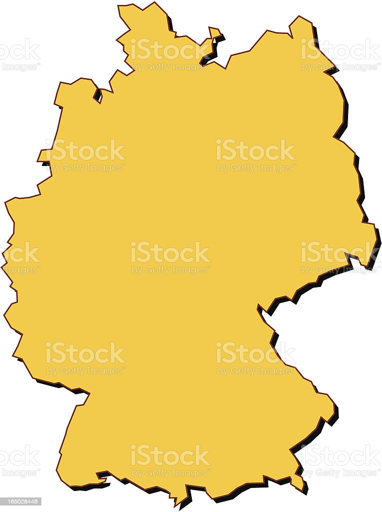 germany map royalty-free germany map stock vector art & more images of east