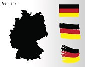 Germany - national flag and colors.