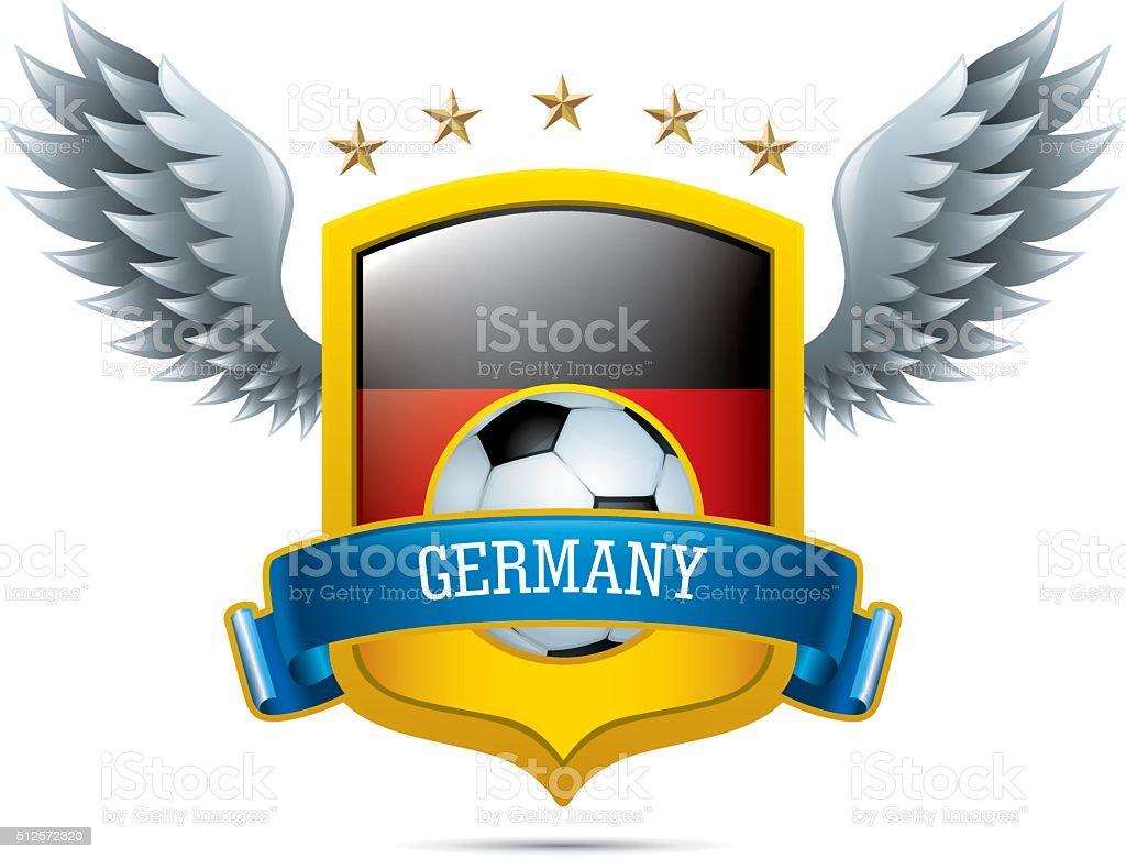Deutschland Fussballikone Stock Vektor Art Und Mehr Bilder