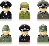 Germany soldiers, WW2 period