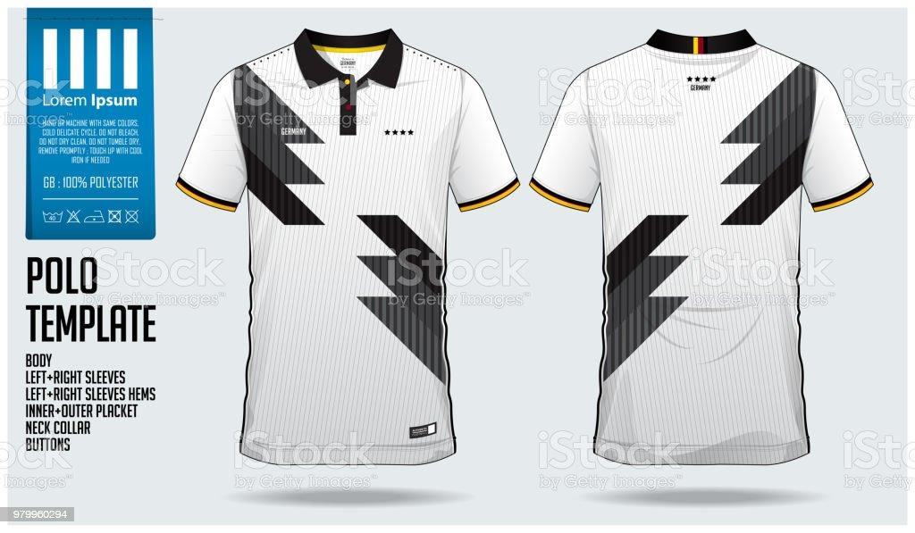 52b78d5477 Alemanha equipe Polo t-shirt esporte modelo de design de camisa de futebol