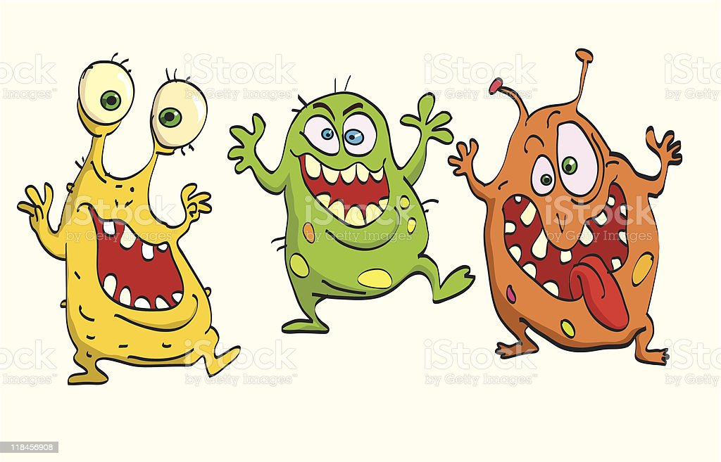 Germs royalty-free stock vector art
