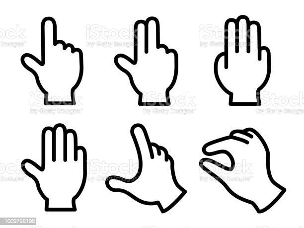 Gesture Icon Stock Illustration - Download Image Now