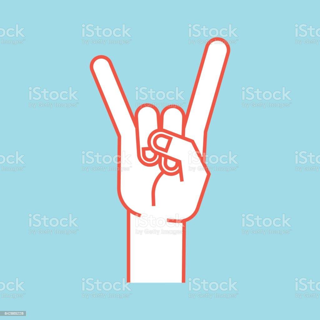 ist der finger oben