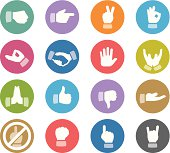 Wheelico icons collection - Gesturing Communication.