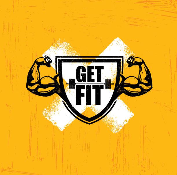 Gym Logo Illustrations, Royalty-Free Vector Graphics