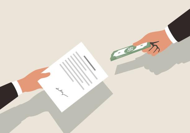 ilustrações, clipart, desenhos animados e ícones de conseguir dinheiro para contrac, ilustração vetorial - empréstimo
