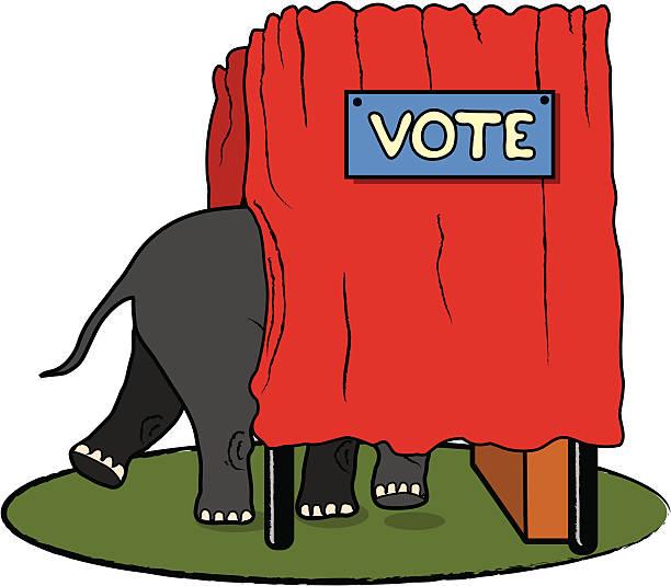 machen sie sich auf das republikanische abstimmung - abgeordnetenhaus stock-grafiken, -clipart, -cartoons und -symbole