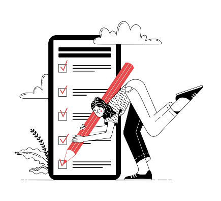 Get things done onboarding illustration