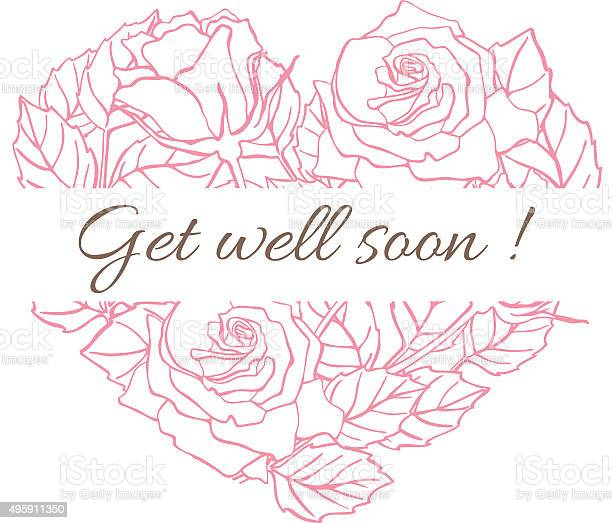 Get well soon friendly vector vintage card with flower drawing vector id495911350?b=1&k=6&m=495911350&s=612x612&h=sn anj4zbv9fqfu2ez78vdnv0xktbc2zc2u6hwankjq=