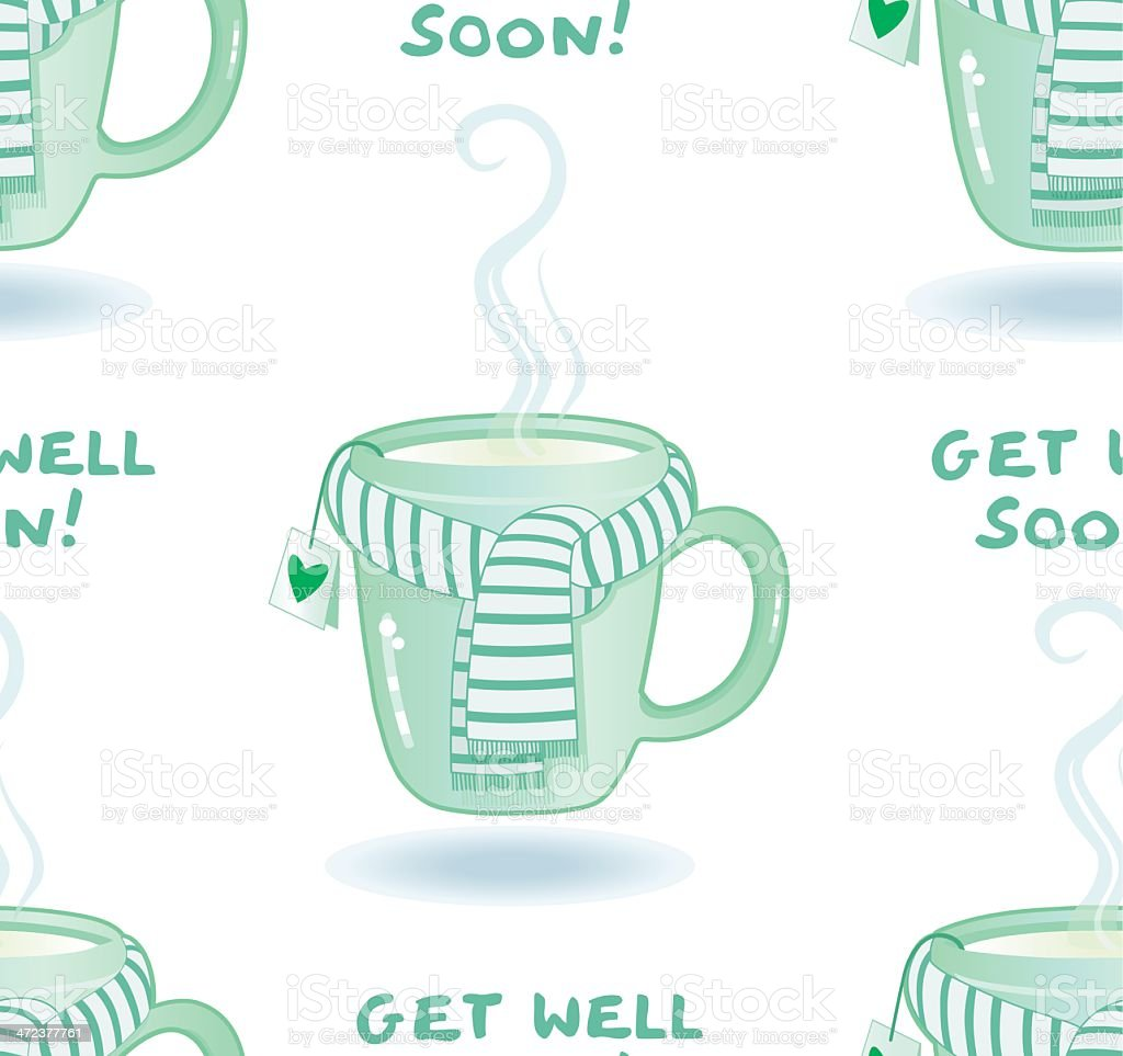 Get well soon ! (seamless pattern) royalty-free get well soon stock vector art & more images of alternative medicine