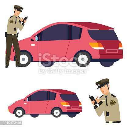 istock Getting a ticket 1210473493