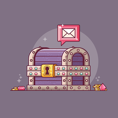Getting Magic Email from Treasure Chest