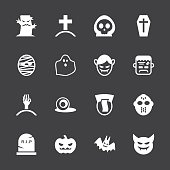 Ghost Icons - White Series | EPS10