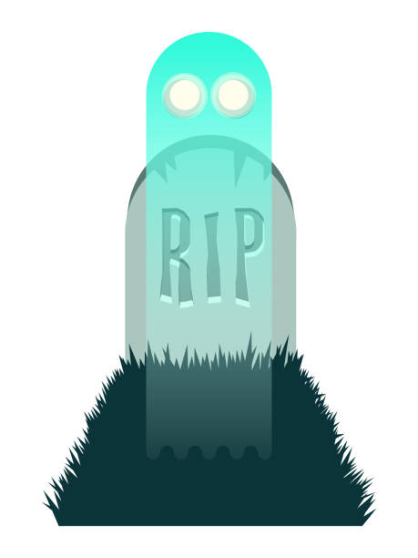 ghost rising from grave - phil spector stock illustrations