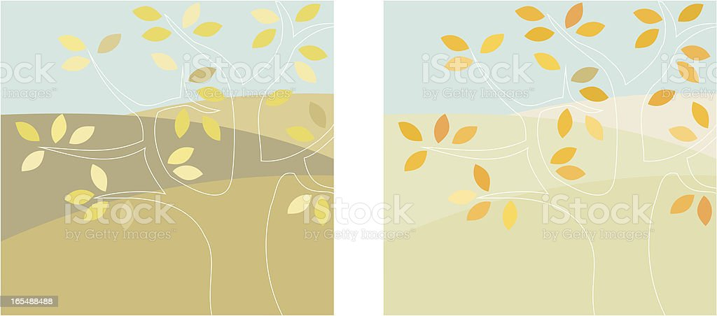 Ghost Tree royalty-free stock vector art