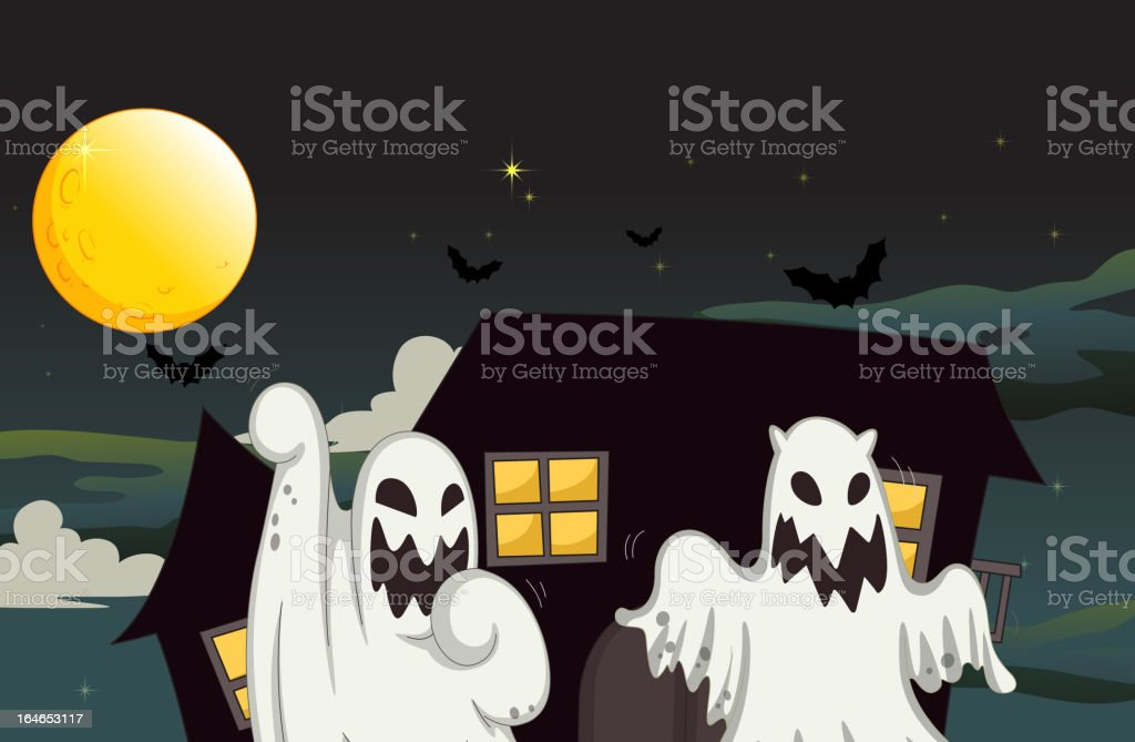 Ghost royalty-free stock vector art