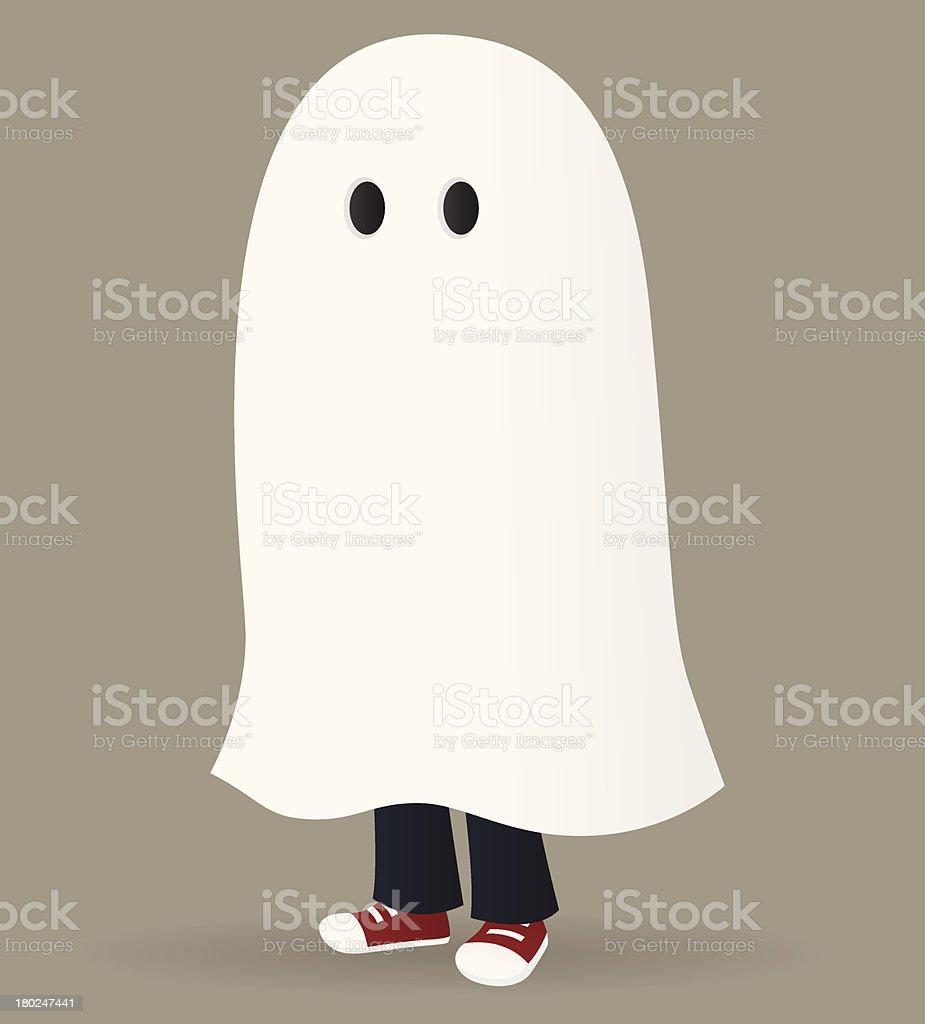 Ghost vector art illustration