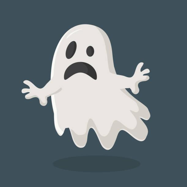 bildbanksillustrationer, clip art samt tecknat material och ikoner med ghost vektor - spöke